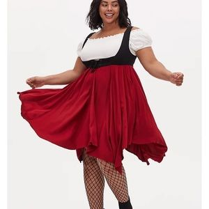 Torrid NWT 3X Halloween Pirate Wench Costume